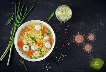 توصیههای غذایی در قرنطینه خانگی