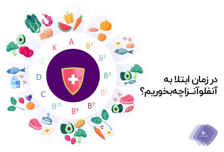 غذاهای مفید برای حالت تهوع کداماند؟ / در زمان ابتلا به آنفلوآنزا چه بخوریم؟